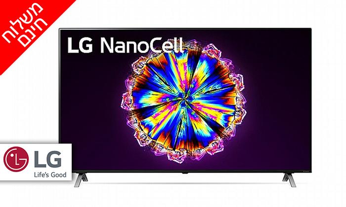 2 טלוויזיה חכמה 86 אינץ' LG דגם86NANO90 - משלוח חינם