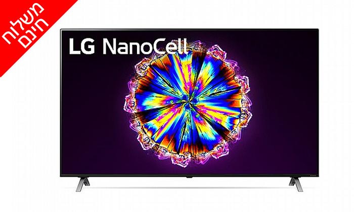 3 טלוויזיה חכמה 86 אינץ' LG דגם86NANO90 - משלוח חינם