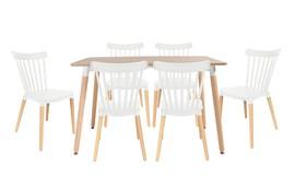 שולחן לרנקה ו-4 כיסאות פררה