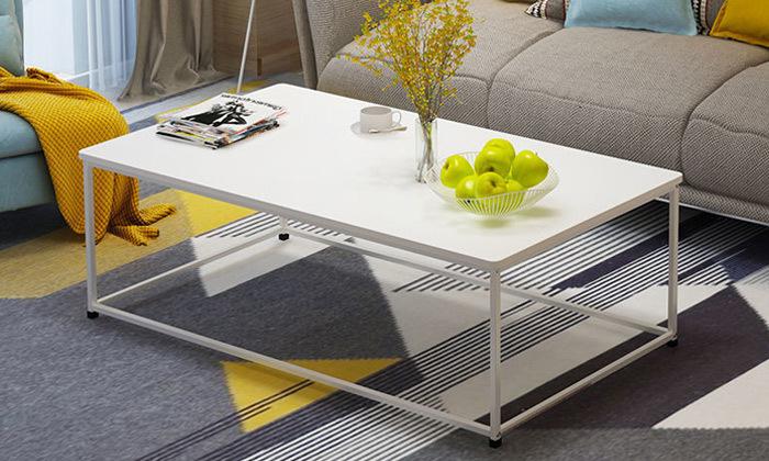 2 שולחן סלון מלבני דגם וגאס