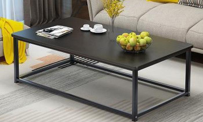 4 שולחן סלון מלבני דגם וגאס