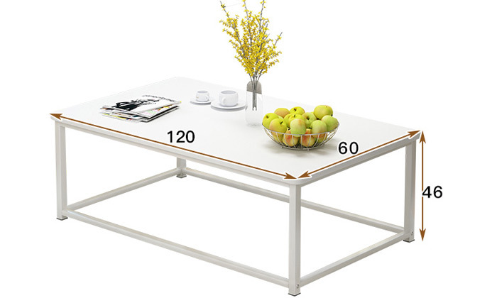 3 שולחן סלון מלבני דגם וגאס