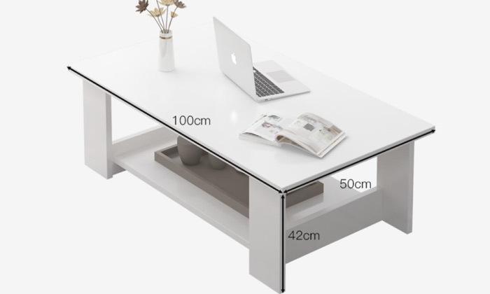 4 שולחן סלון מלבני ראמוס עיצובים דגם פלוטו