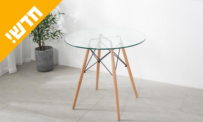 3 פינת אוכל הכוללת שולחן דגם דה וינצ'י ו-4 כיסאות דגם בארי