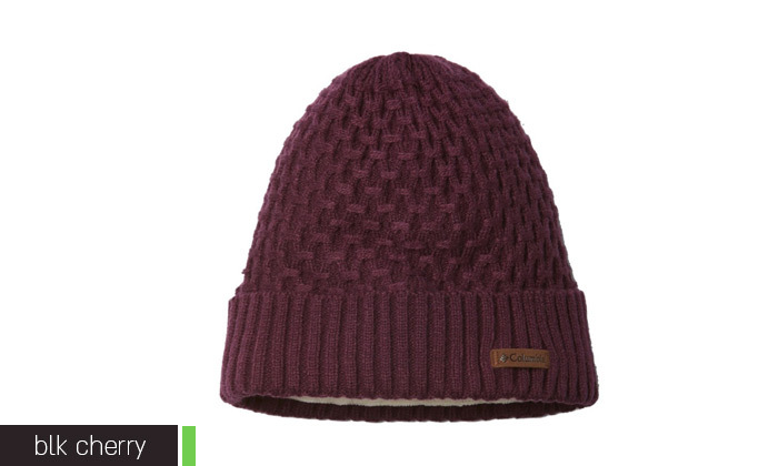 4 כובע גרב Columbia דגם Hideaway Haven Cabled