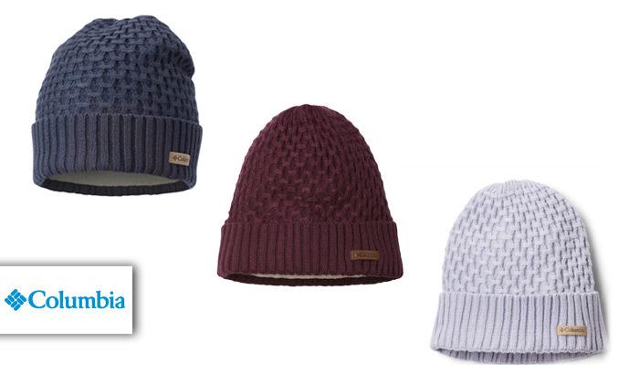 2 כובע גרב Columbia דגם Hideaway Haven Cabled