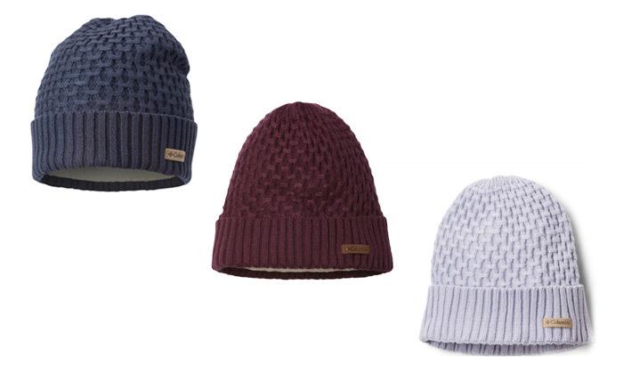6 כובע גרב Columbia דגם Hideaway Haven Cabled