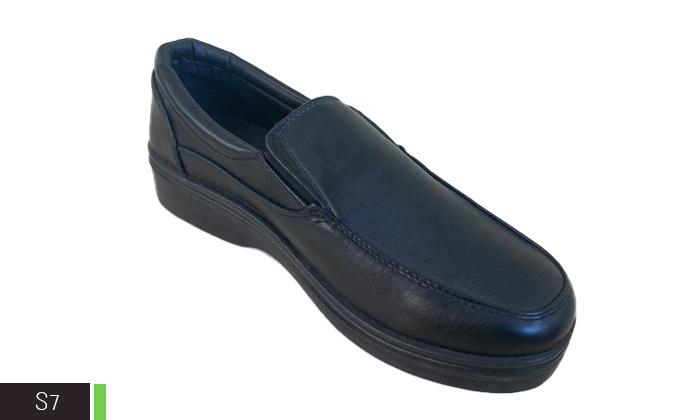 9 2 זוגות נעליים שחורות לגברים במבחר דגמים