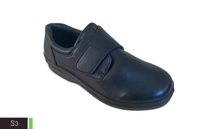 5 2 זוגות נעליים שחורות לגברים במבחר דגמים