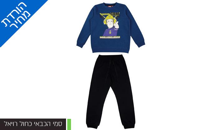 4 מארז 3 חליפות פוטר ממותגות לילדים במבחר דגמים