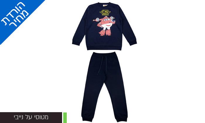 5 מארז 3 חליפות פוטר ממותגות לילדים במבחר דגמים