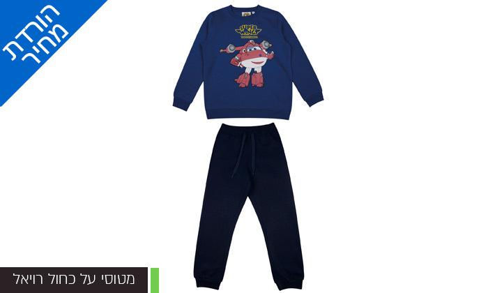 7 מארז 3 חליפות פוטר ממותגות לילדים במבחר דגמים