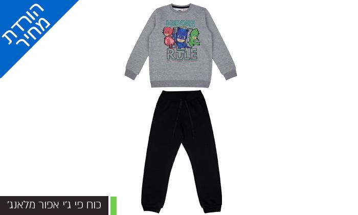 12 מארז 3 חליפות פוטר ממותגות לילדים במבחר דגמים