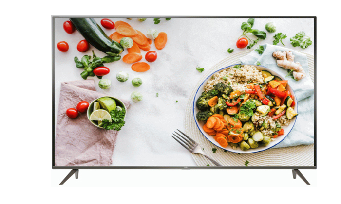 2 טלוויזיה חכמה TCL בגודל 50 אינץ'