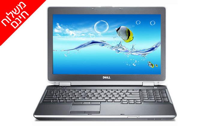 4 מחשב נייד DELL עם מסך 15.6 אינץ' ומעבד i5 - משלוח חינם