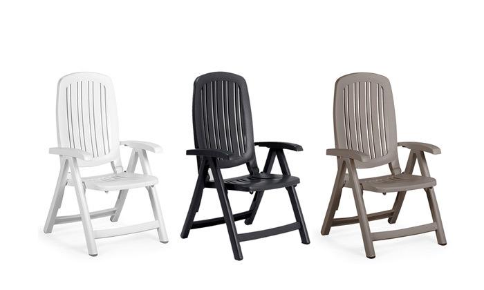 6 כיסא נוח 5 מצבים H.KLEIN - מגוון צבעים לבחירה