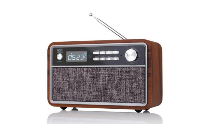 3 רמקול רדיו Bluetooth בעיצוב רטרו דגם NOA sound box V300