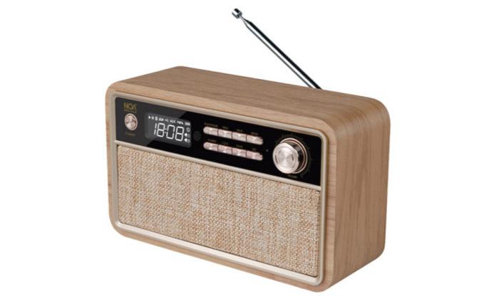 2 רמקול רדיו Bluetooth בעיצוב רטרו דגם NOA sound box V300