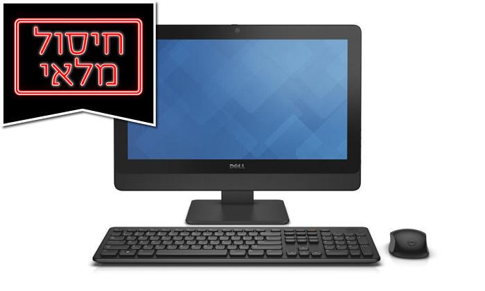 2 מחשב נייח DELL AIO מחודש דגם OptiPlex 9030 עם מסך 23 אינץ', מעבד i5 וזיכרון 8GB