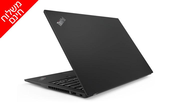 """4 מחשב נייד מחודש Lenovo דגם T490 מסדרתThinkPad עם מסך """"14, זיכרון 8GB ומעבד i7 - משלוח חינם"""