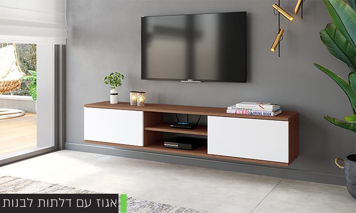 4 מזנון טלוויזיה מרחף