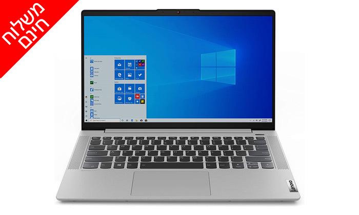 """5 מחשב נייד מחודש Lenovo דגם14IIL05 מסדרתIdeaPad עם מסך """"14, זיכרון 8GB ומעבד i5  - משלוח חינם"""