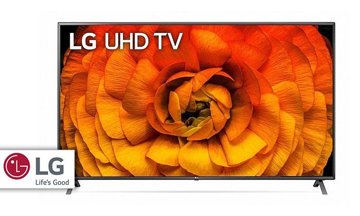 2 טלוויזיה חכמה LG בגודל 86 אינץ'