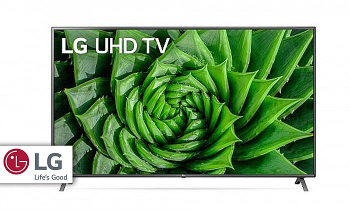 2 טלוויזיה חכמה 86 אינץ' LG