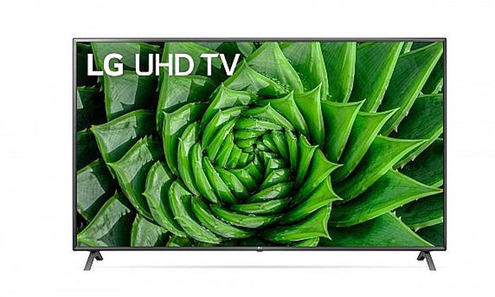 3 טלוויזיה חכמה 86 אינץ' LG
