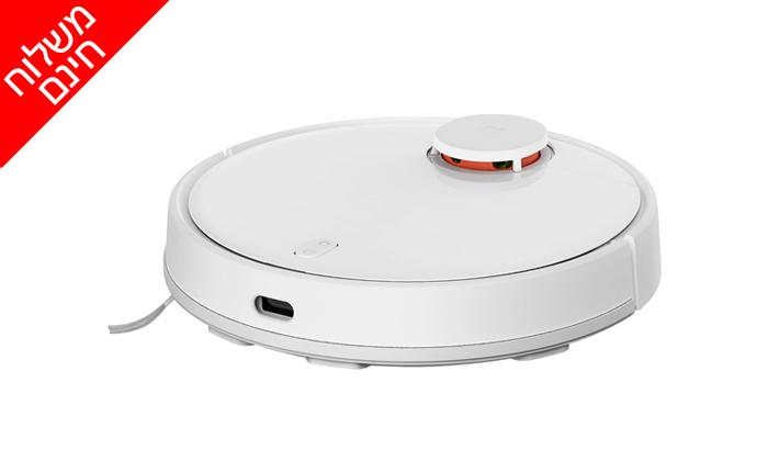 4 שואבאבק שוטף רובוטי שיאומי Xiaomi,דגםMi Robot Vacuum Mop Pro - משלוח חינם