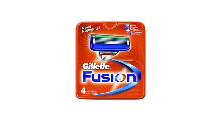 3 מארז 12 סכיני גילוח ג'ילט פיוז'ן Gillette Fusion