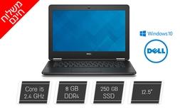 """מחשב נייד DELL עם מסך """"12.5"""