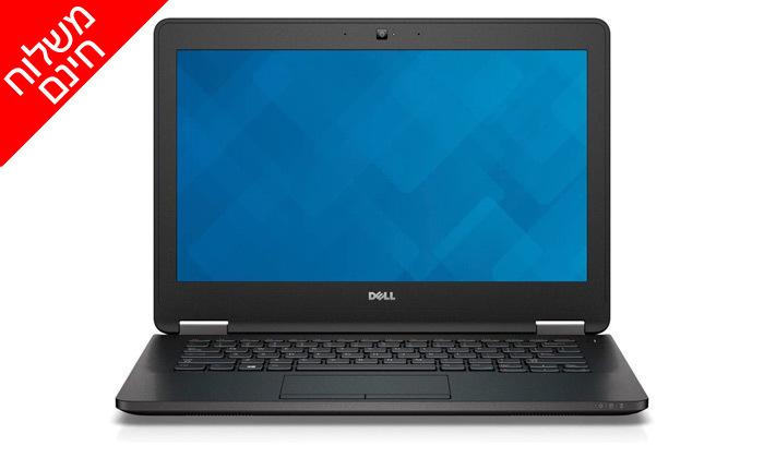 """5 מחשב נייד מחודש DELL דגם E7270 מסדרת Latitude עם מסך """"12.5, זיכרון 8GB ומעבד i5 - משלוח חינם"""