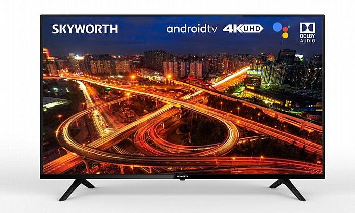 2 טלוויזיה חכמה SKYWORTH בגודל 65 אינץ' 4K