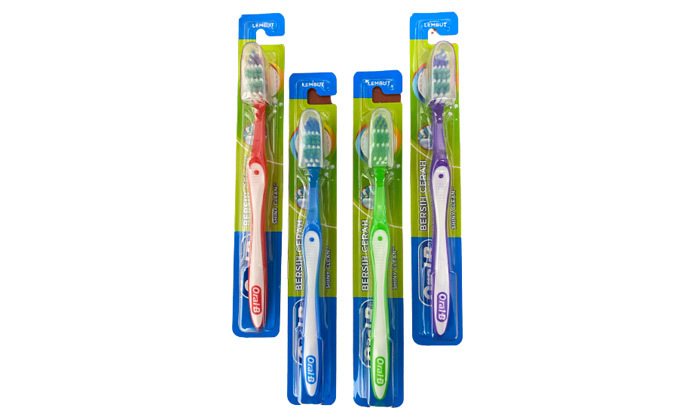 3 מארז 10 יח' משחת שיניים Colgate ו-10 מברשות Oral-B