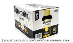 24 בקבוקי בירה Corona Extra