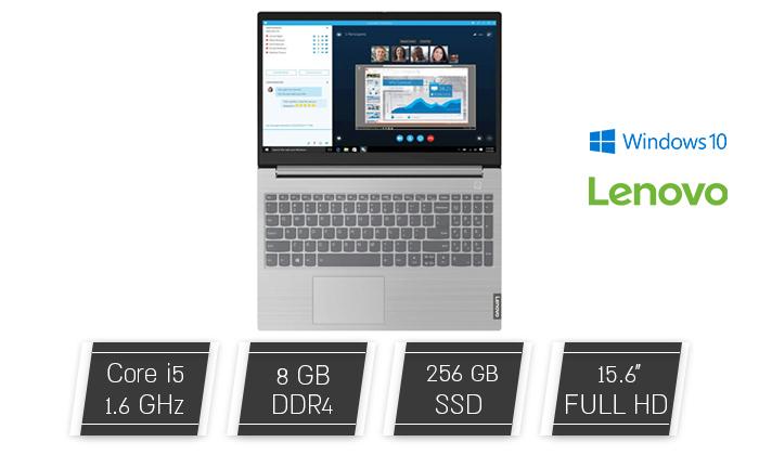 """2 מחשב נייד מחודש Lenovo דגם 15IML מסדרת ThinkBook עם מסך """"15.6, זיכרון 8GB ומעבד i5"""