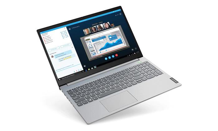 """4 מחשב נייד מחודש Lenovo דגם 15IML מסדרת ThinkBook עם מסך """"15.6, זיכרון 8GB ומעבד i5"""