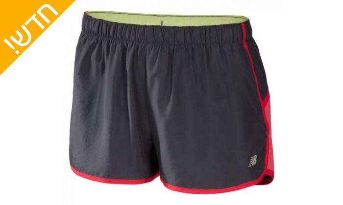 2 מכנס שורט אימונים ניו באלאנס לנשים new balance