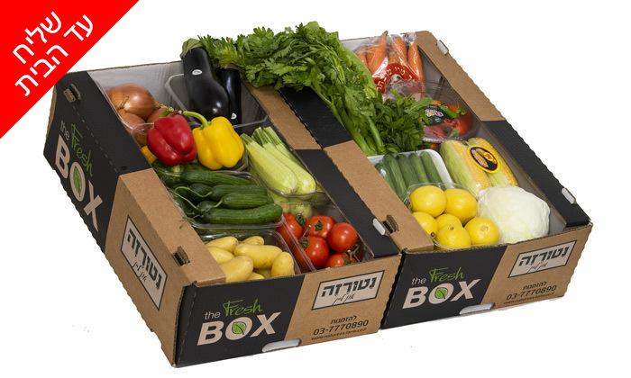 5 מארזי ירקות ופירות ממשק נטורזה במשלוח עד הבית למגוון יישובים
