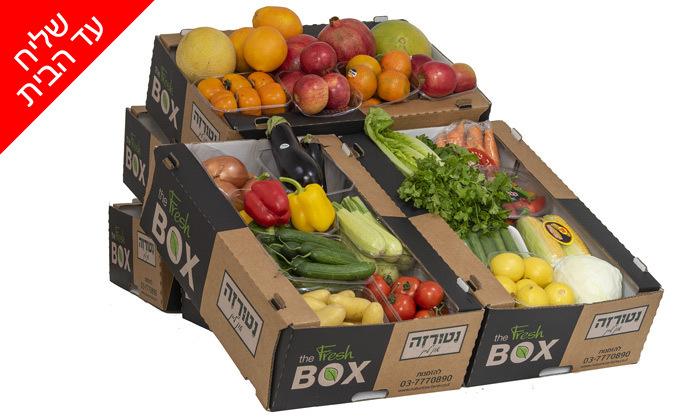 9 מארזי ירקות ופירות ממשק נטורזה במשלוח עד הבית למגוון יישובים