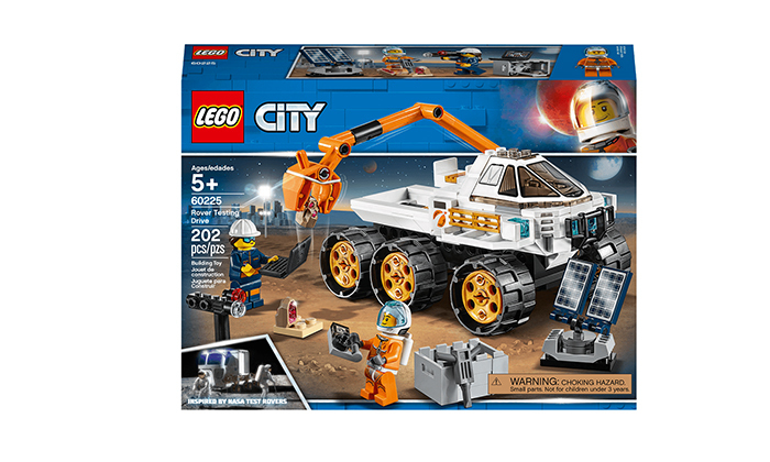 2 לגו דופלו LEGO duplo: רכב לחקר החלל - 202 חלקים