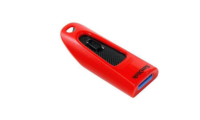 3 דיסק און קי 64GB סנדיסקSanDisk בצבע אדום