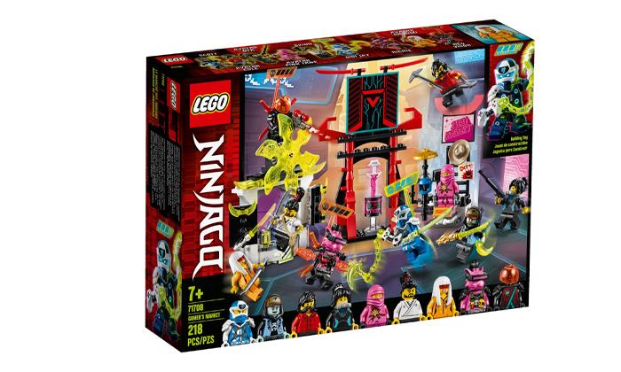 2 שוק הגיימרים של לגו נינג'גו LEGO NINJAGO