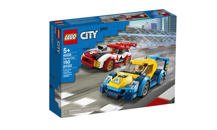 2 לגו LEGO: מירוץ מכוניות