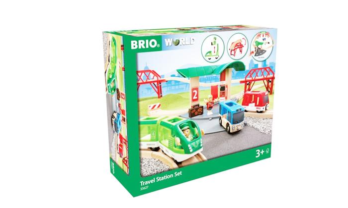 2 בריו BRIO: מסילת רכבת