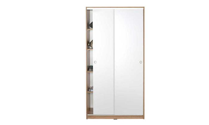 4 ארון הזזה 2 דלתות דגם אלמוג