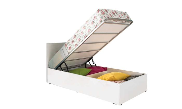 3 בסיס מיטת יחיד עם ארגז מצעים RAMOS