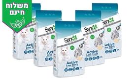 5 שקי חול חתולים מתגבש Sanicat