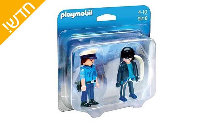 2 פליימוביל Playmobil: שוטר ושודד